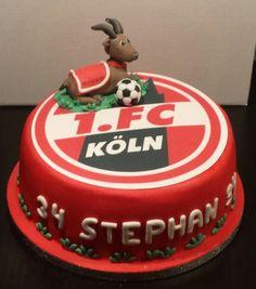 Fußballtorte 1. FC Köln