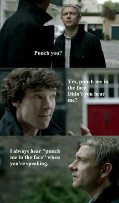 Possibly my favorite John and Sherlock scene
