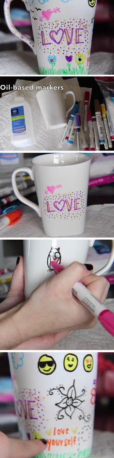 Marker Mug | DIY Valentines Crafts for Kids to Make | Easy Valentines Day Activities for Classroom