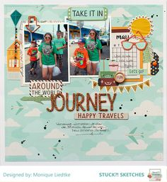Journey - American Crafts - Go Now Go Collection