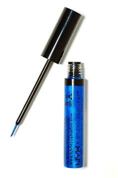 NYX Studio Liquid Eyeliner - Blue