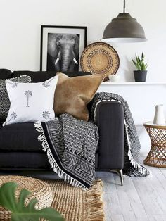 Best Black And White Interior Design 1 - The latest in Bohemian Fashion! These literally go viral!