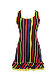 Multicolor Stripe  www.modaypadel.com #padel #modapadel #padelfemenino