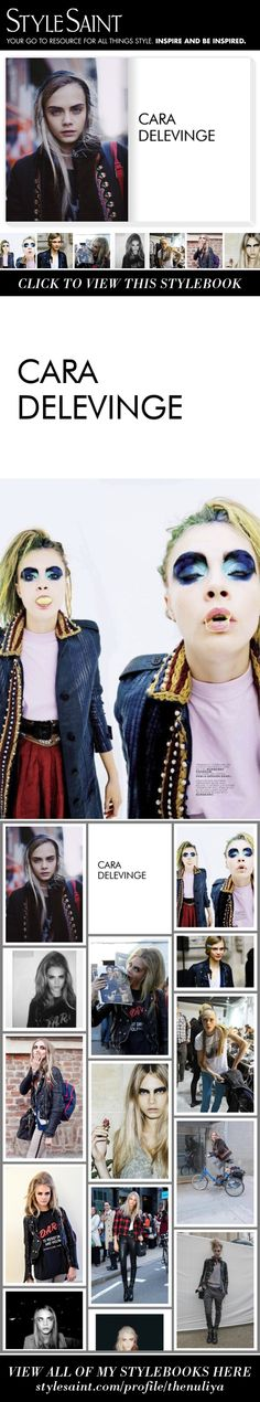 Cara Delevinge - Styled by Nu Liya on #StyleSaint