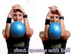 Image result for pilates exercises with the small ball