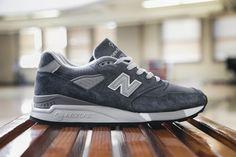 """New Balance 998 """"Dark Grey"""" (Made in U.S.A.)"""