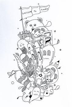 Moleskine - myMoleskine - A Simple Doodle / First Youtube Doodle - Mix Doodle