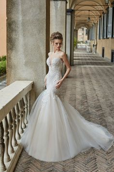 MELANIA wedding dress by OKSANA MUKHA