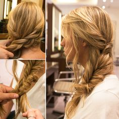 The Effortlessly Chic Side Braid That's Perfect For Hats