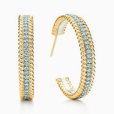 Earrings - Silver, Gold, & Diamond Earrings | Tiffany & Co.