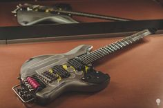 Not sure if beautiful, but hugely interesting:  Rick Toone's guitar for Misha Mansoor. http://www.ricktoone.com/toone-townsend-production-guitar/
