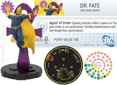 HeroClix Dr Fate Convention Exclusive Dial [pic] #heroclix