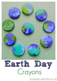 How To Make Homemade Multi Colored Crayons {Great Earth Day Activity} - FSPDT