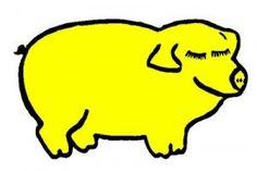 Cerdo-amarillo