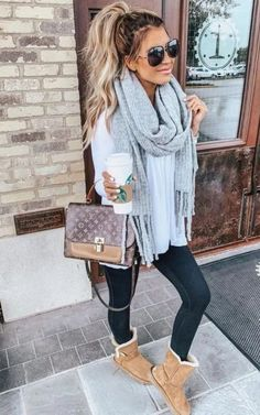 14 Winter Street Style Outfits to Keep You Stylish and Warm . 14 winter street style outfits that keep you stylish and warm - hariankoransuara , 14 Winter S. Winter Outfits For Teen Girls, Cute Winter Outfits, Winter Fashion Outfits, Look Fashion, Autumn Fashion, Casual Winter, Fashion Design, Winter Weekend Outfit, Girls Weekend Outfits