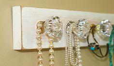 Crystal Knob Necklace Holder
