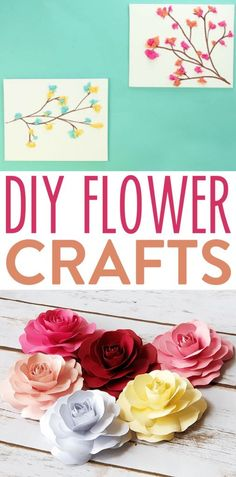 We just love making flower crafts. The color and texture that they  add are always so pretty and refreshing. We have rounded up some of our  favorite flower craft projects here and you are going to love them! #diy #crafts #teencrafts #projects #diycrafts  #diyprojects #fundiys #funprojects #diyideas #craftprojects #diyprojectidea  #teencraftidea Christmas Gifts For Teenagers, Cool Gifts For Teens, Birthday Gifts For Teens, Diy For Teens, Diy Projects For Teens, Crafts For Teens, Easy Diy Projects, Craft Projects, Felt Flowers