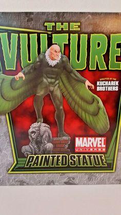 "BOWEN DESIGNS MARVEL ""THE VULTURE"" Stands over 17 Inches NEW beschädigt DAMAGED The Brethren, Vulture, Marvel Universe, Sculpting, Comic Books, Statue, Enemies, Comics, Ebay"