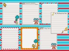Scrap N Teach: Dr. Seuss writing papers