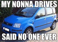 The loyal Fiat panda. Fiat Panda, Italian Life, Italian Girls, Italian Girl Problems, Fiat Cars, Cute Cars, My Heritage, Laughing So Hard, Film