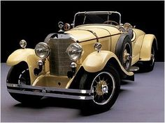 1926 Mercedes Benz K The only yellow car I'd own.