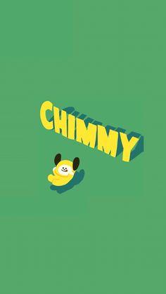 BTS JIMIN WALLPAPER LINESTICKER CHIMMY PARK JIMIN