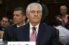 "1/23/17 - Buddy of Putin, CEO of Exxon, think he will help ""Take the oil from Iraq""? - Secretary of State Nominee Rex Tillerson Advances Out of Committee - NBC News"