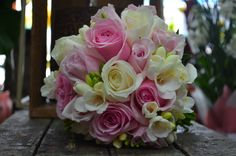 Scentsational Flowers Pink and White Bouquet
