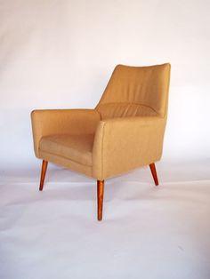 Paul Mccobb SQUIRM lounge chair Rare eames umanoff era
