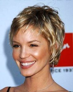 short wavy hairstyles for thin hair - Google Search