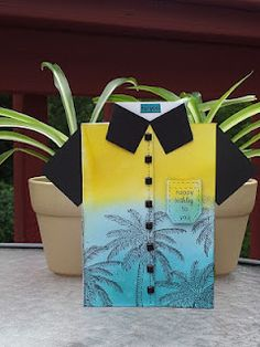 tropical shirt card by Denimgal67@yahoo.com, via Flickr