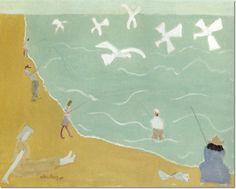 Milton Avery - Southern Sea Archival Fine Art Paper Print