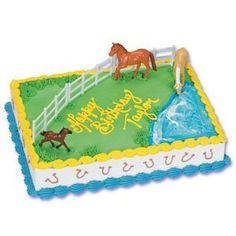 horse cake decorating kit