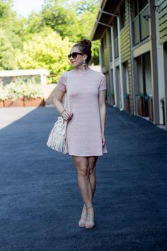Asos Pink Shift Dress