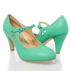 V-Luxury Womens 36-KIMMY21 Closed toe High Heel Mary Jane Pumps Shoes, Sea Green PU Leather, 7.5 B (M) US V-Luxury http://www.amazon.com/dp/B00UH822UQ/ref=cm_sw_r_pi_dp_ewYlvb1Q8WNCW