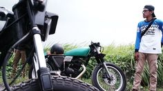 Green caferacer