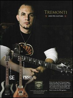 Creed Mark Tremonti 2009 Signature PRS guitar dealers ad 8 x 11 advertisement Cort Guitars, Dean Guitars, Learn Acoustic Guitar, Acoustic Guitars, Mark Tremonti, Guitar Magazine, Signature Guitar, Alter Bridge, Myles Kennedy
