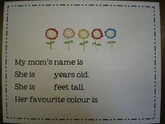 Mrs. Bremer's Kindergarten: Mother's Day Ideas & A Freebie!