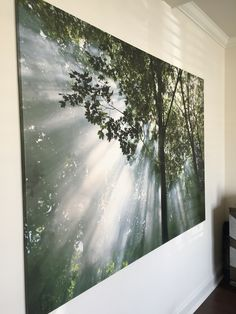 Yoga room wall art- this is from Ikea!