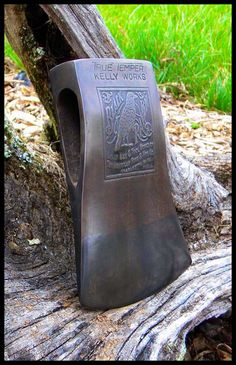 """#axes #axe #ax """"Black Raven"""" Kelly Axe & Tool Works of The American Fork & Hoe Co. Charleston. W.VA. U.S.A"""