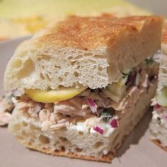 Crafting the Tuna, Fennel, and Lemon 'Wich at Home