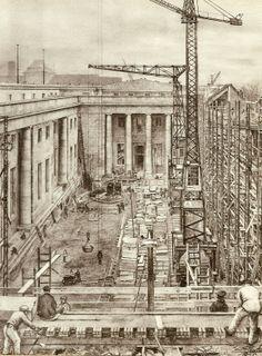 Construction 1938 - 1939