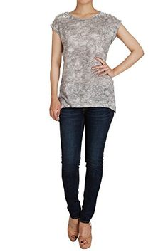 Hipsteration Womens Cap Sleeve T-Shirts Embellished Shoulder Top Light Blue, M Hipsteration http://www.amazon.com/dp/B019Q74SSW/ref=cm_sw_r_pi_dp_zovIwb0BZC7QM