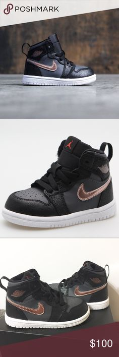 Jordan 1 Retro High BT (Toddler) Brand new with box! Jordan Shoes Sneakers