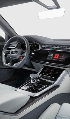 Audi Concept 2017 UI Design - Cars and motor Audi Interior, Car Interior Sketch, Car Interior Design, Automotive Design, Audi R8 V10, Audi Tt, Allroad Audi, Bentley Continental Gt, Ui Design