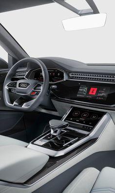 Audi Concept 2017 UI Design - Cars and motor Audi Interior, Car Interior Sketch, Car Interior Design, Automotive Design, Audi R8 V10, Allroad Audi, Audi Tt, Bentley Continental Gt, Ui Design