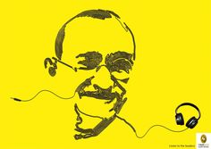 Fingerprint Audio Books: Gandhi, Lincoln, Mandela - Adeevee