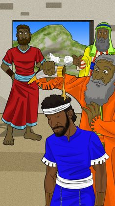 Samuel Anoints David The King Of Israel