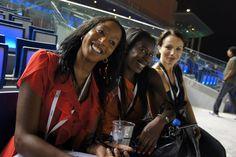 Movement Director Natricia Bernard at Dubai World Cup 2011.