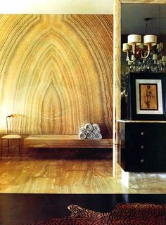 marble statement wall